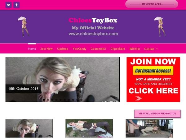 Chloestoybox Search