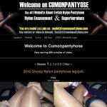 Cumonpantyhose.com Hard