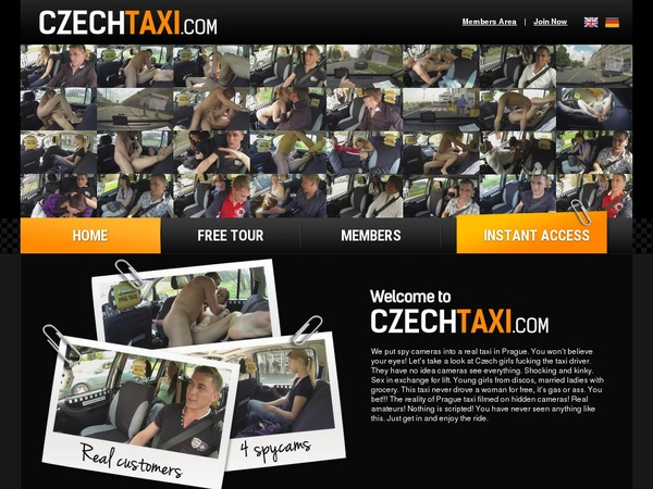 Czech Taxi Pic