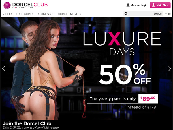 Dorcel Club Pay With Paypal
