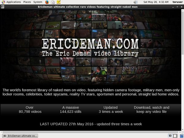 Eric Deman Account