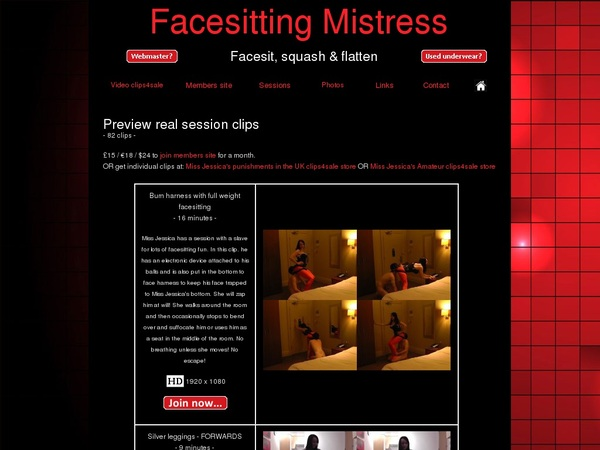 Facesittingmistressvideos.co.uk With Ukash