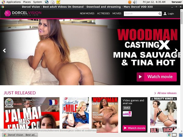Free Account Of Dorcel Vision