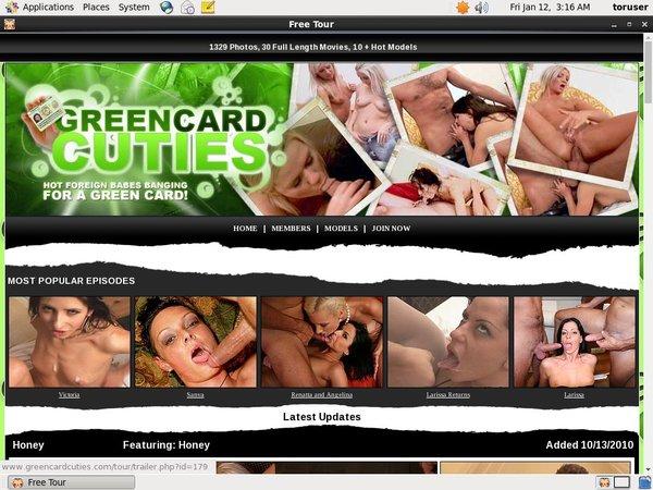 Free Green Card Cuties Pass