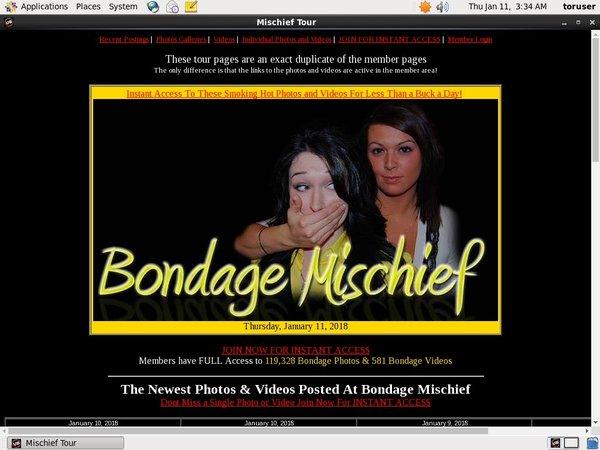 Free Porn Bondagemischief
