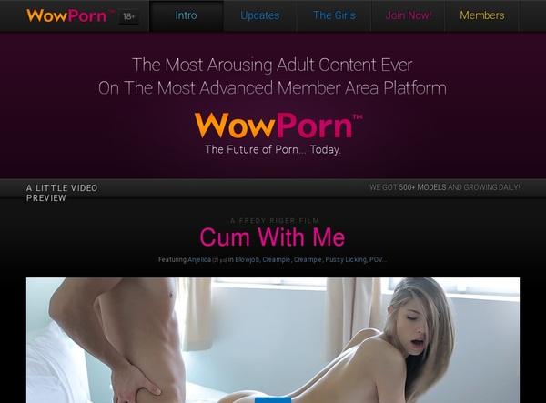 Free Wowporn Acounts