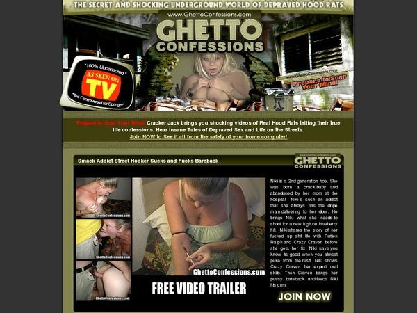 Ghettoconfessions.com Net