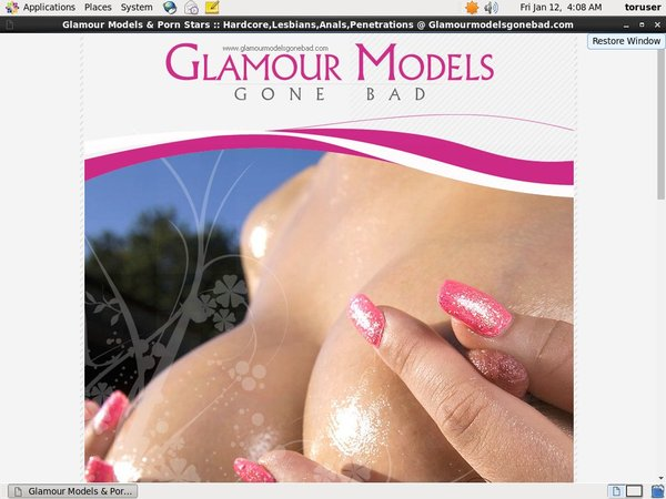 Glamour Models Gone Bad Collection