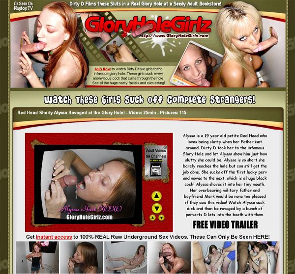 Glory Hole Girlz Free Sign Up