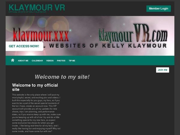Klaymour VR Working Password