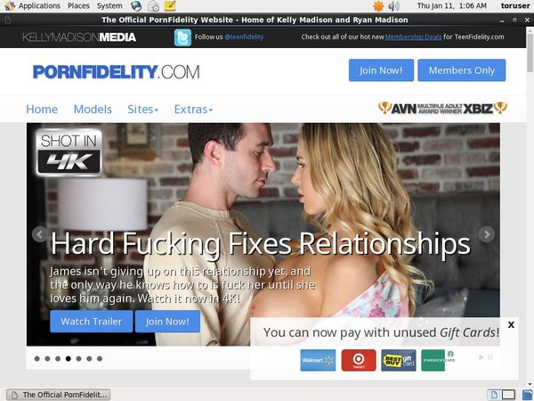 Make Porn Fidelity Account