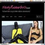 Nasty Rubber Girls With Sliiing