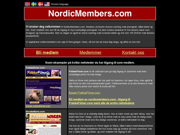 Nordicmembers Paswords