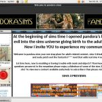 Pandora Sims Checkout Page