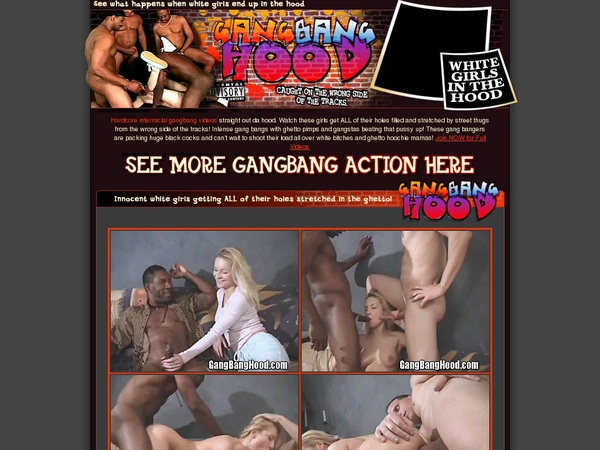 Porno Gang Bang Hood