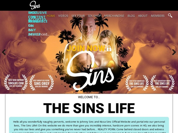 Premium Accounts Sins Life