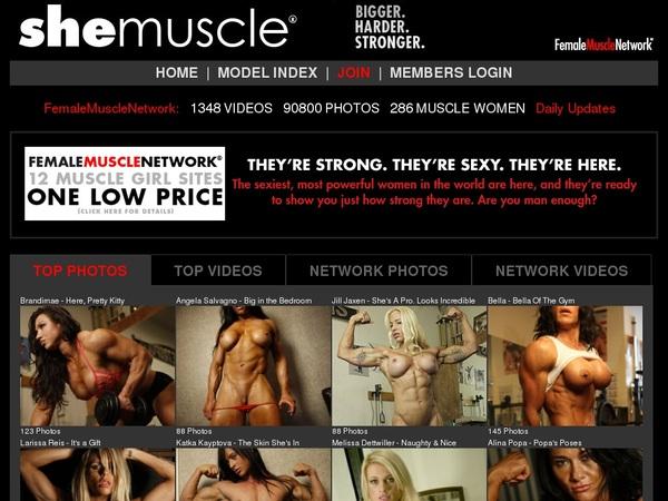 Premium She Muscle Pass