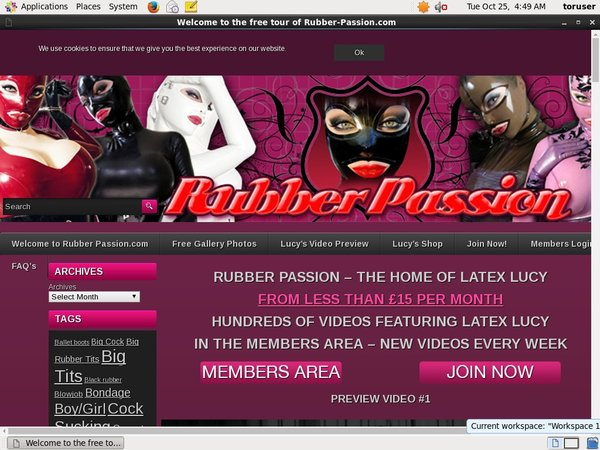 Rubber Passion Cheap