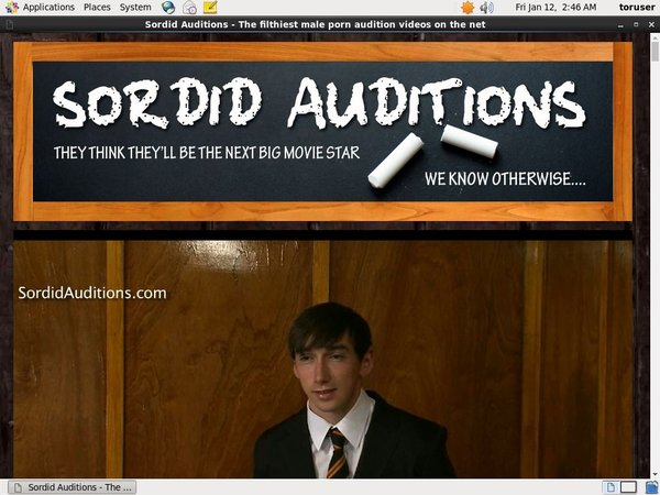 Sordid Auditions V2 Gallery