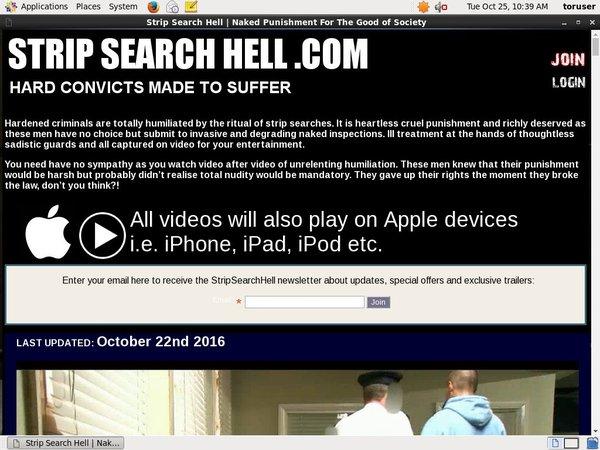 Strip Search Hell Movie