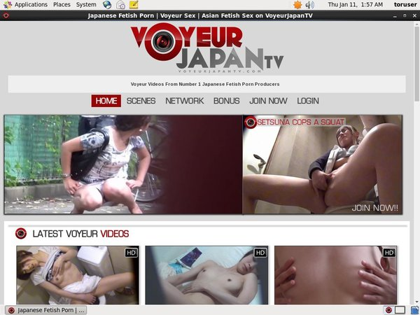 Voyeurjapantv.com Account List
