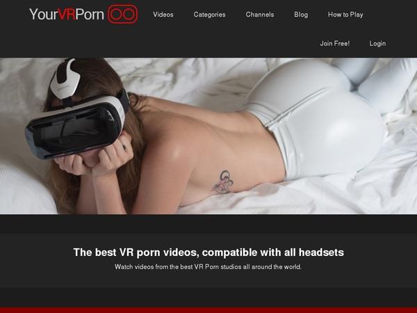 Yourvrporn.com Account Login