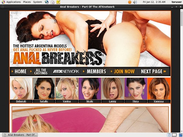 Anal Breakers With Cash
