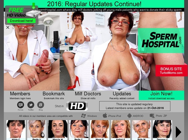 New Free Sperm Hospital Account