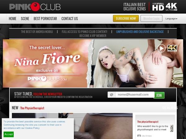 PinkO Club Free Password