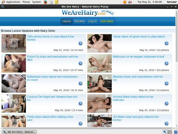 Wearehairy.com Cams