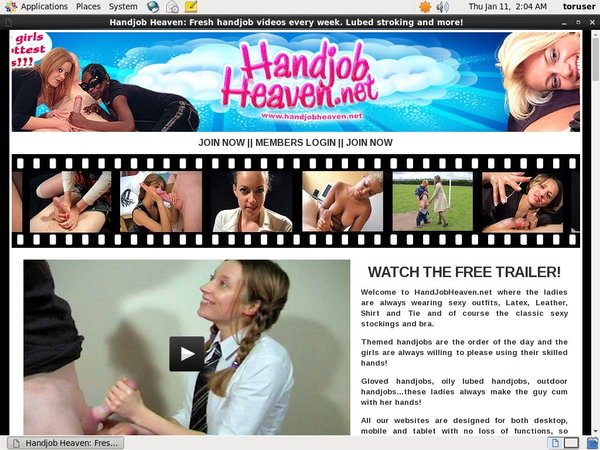 Handjob Heaven Passcode