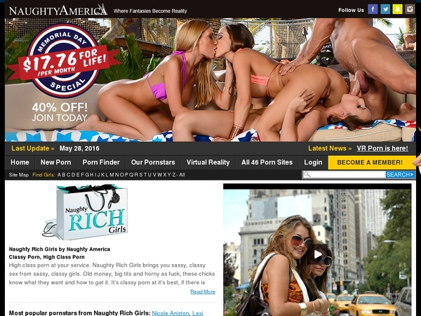 How To Get Free Naughty Rich Girls Account