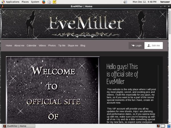 Evemiller.net Official