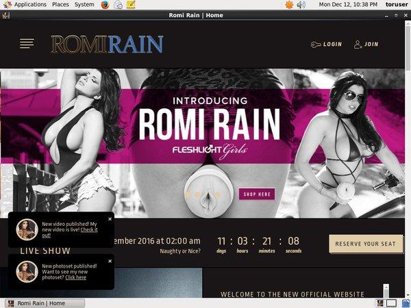 Romirain.com 사용자 이름