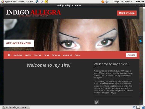 IndigoAllegra Account Login