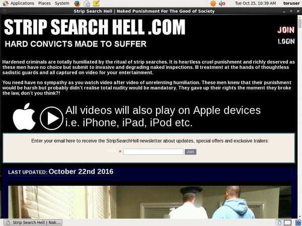 Strip Search Hell Pro Biller Page