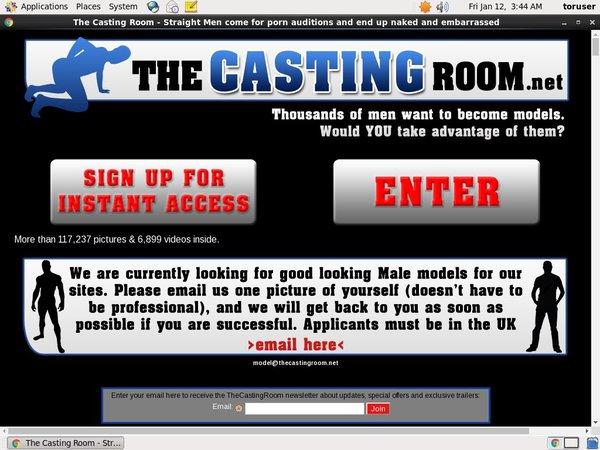The Casting Room Account Generator 2016