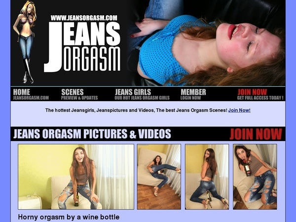 Jeans Orgasm Hack Account