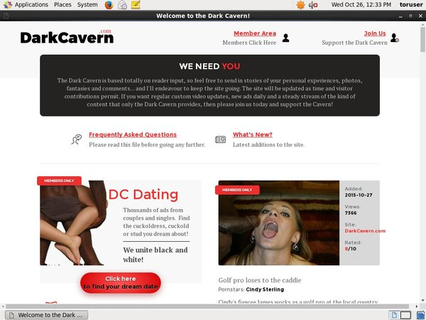 Darkcavern.com Passwords Free