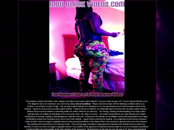 Free Raw Black Videos User And Pass