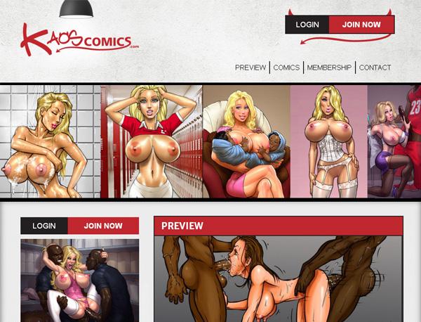 Kaoscomics Home Page