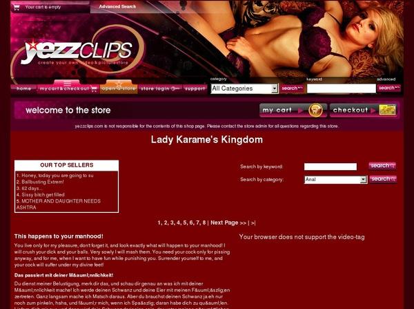 Lady Karame's Kingdom Full Scene