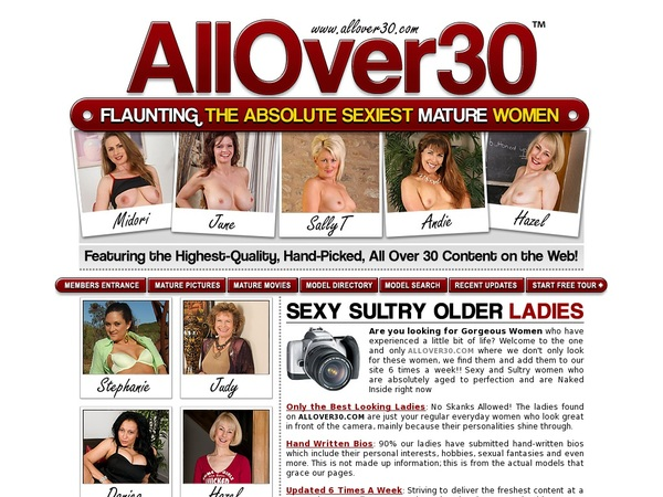 New Allover30.com Password