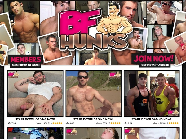 BF Hunks Sign Up Page