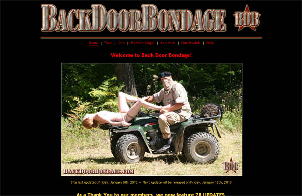 Backdoorbondage.com Account For Free