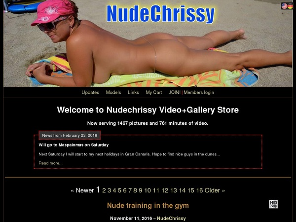 Nude Chrissy Full Version