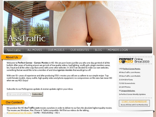 Free Asstraffic.com Account And Password