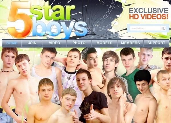 5 Star Boys Stolen Password