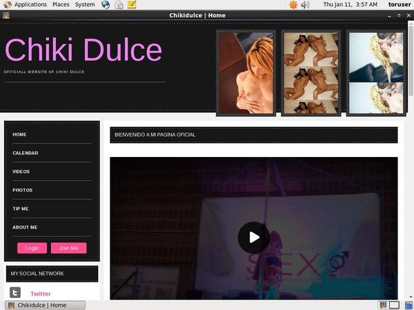 Chiki Dulce Free
